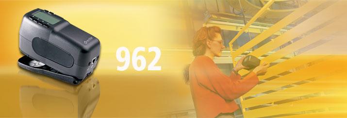 美国爱色丽X-rite 962 0°/45° 便携式分光光度仪