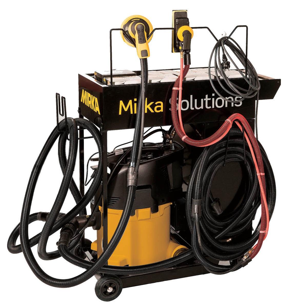芬兰磨卡MIRKA干磨设备标配套装
